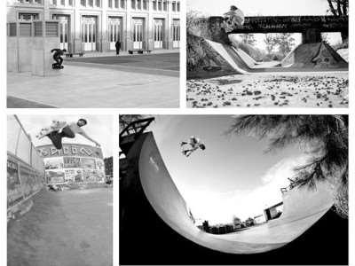 4×4 fotos de skate en Loria Skate Shop y Amigos