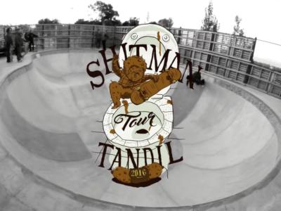 Shitman Tour TANDIL, El Video.